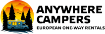 Location de camping-car avec Anywhere campers